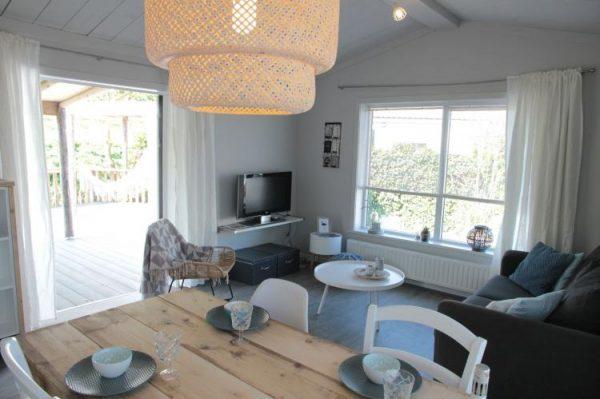 Chalet Lodge 40 - Nederland - Zeeland - 4 personen - woonkamer