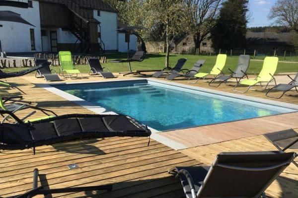 Vakantiehuis Maison Hives - België - Ardennen - 22 personen - zwembad