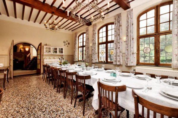 Villa Villa Spa - België - Ardennen - 25 personen - eetkamer